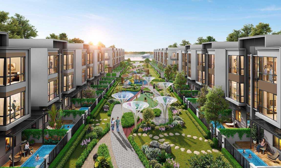Khu đô thị sinh thái sang trọng bậc nhất Aqua City