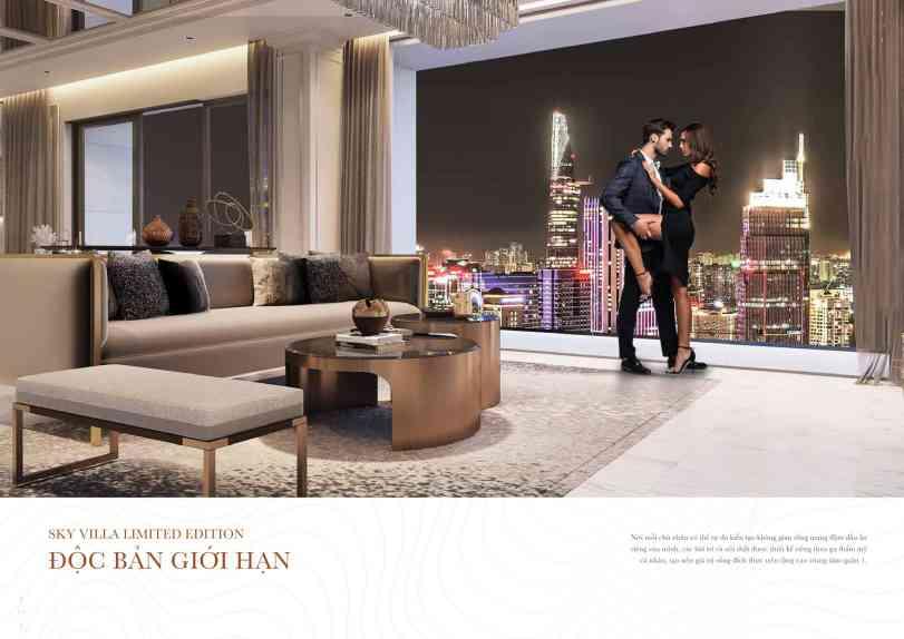 Điểm nhấn đặc biệt của dự án The Grand Manhattan