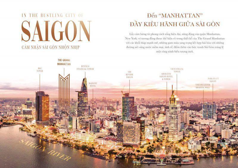 Sở hữu căn hộ triệu đô The Grand Manhattan trung tâm quận 1