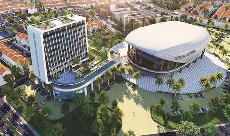 Mua nhà phố xanh tại TP HCM cùng với Aqua City