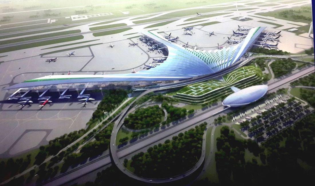 Tiến độ xây dựng cảng hàng không quốc tế Long Thành