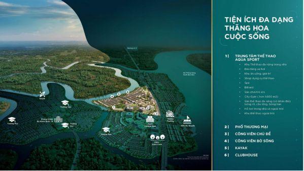 Tiện ích Aqua City Biên Hòa