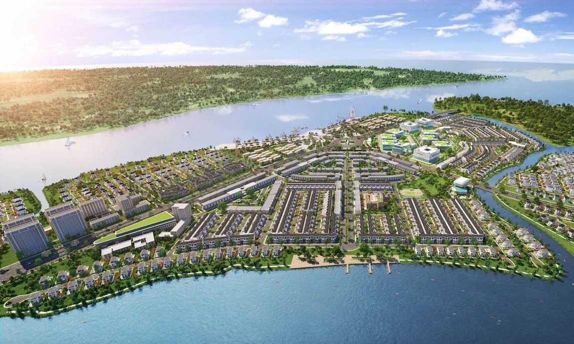 Không gian Aqua City