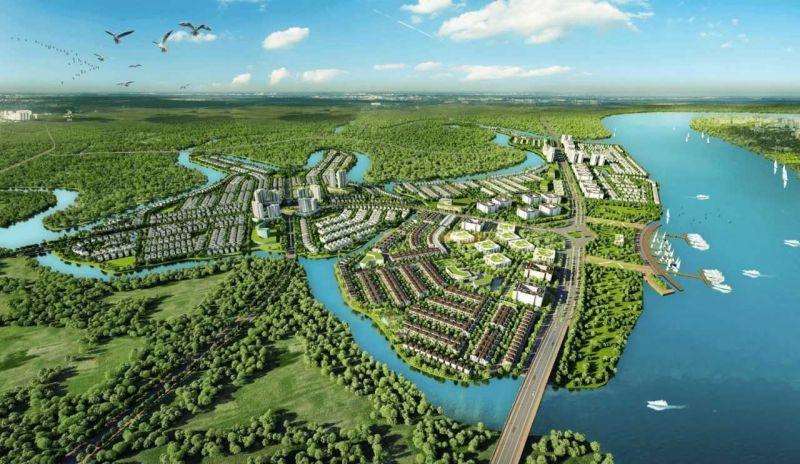 Phối cảnh Aqua City Biên Hòa