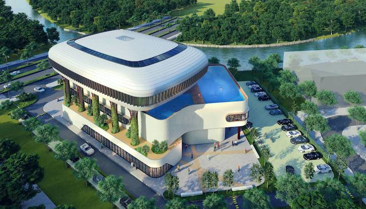 Đô thị Aqua City khởi công khu thể thao đa năng hơn 2.2 ha
