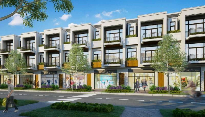 Dự án Aqua City - Biên Hòa - Thiết kế nhà mẫu