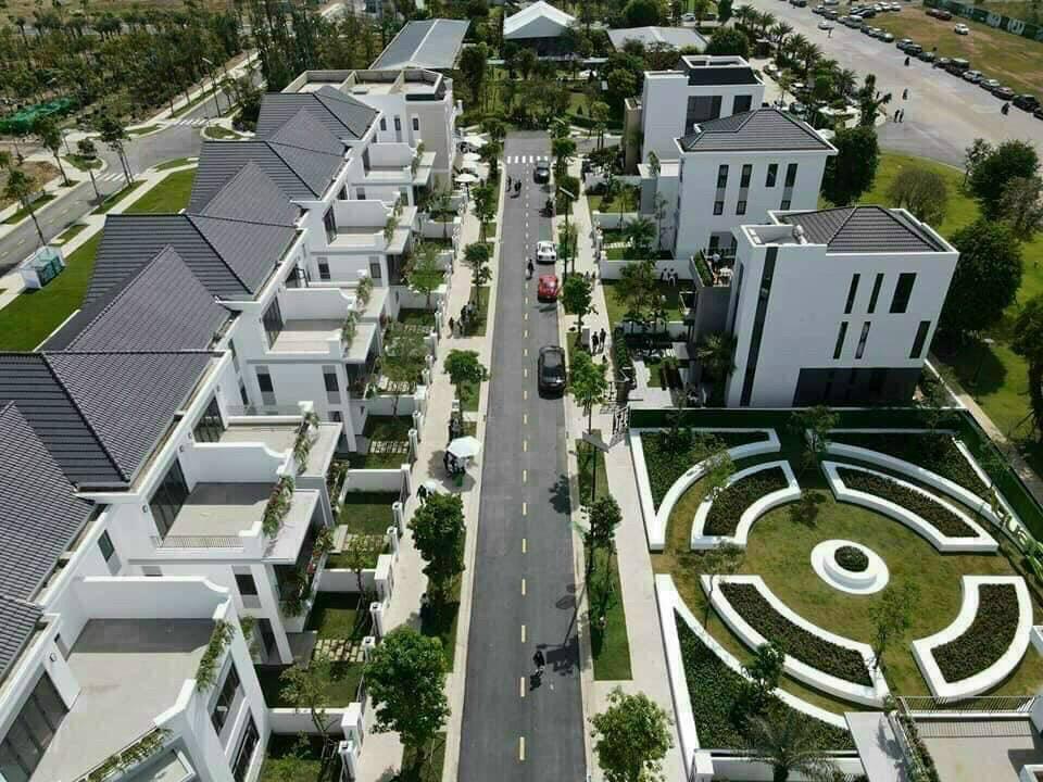 Khu biệt thự phong cách châu Âu tại Aqua City 2021