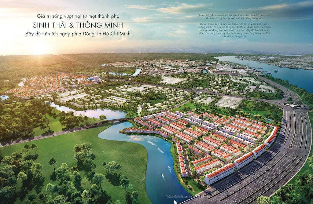 Aqua City có tiềm năng phát triển lớn