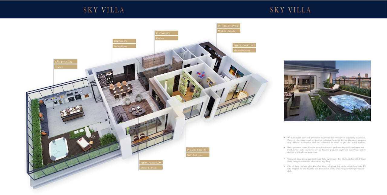 The grand manhattan sky villa