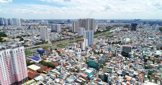 view Q6 huong Nam