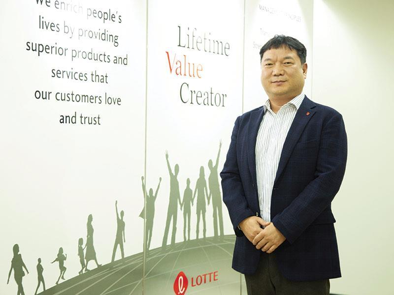 Ông Jun Sung Ho, Tổng giám đốc Công ty Lotte E&C Việt Nam.