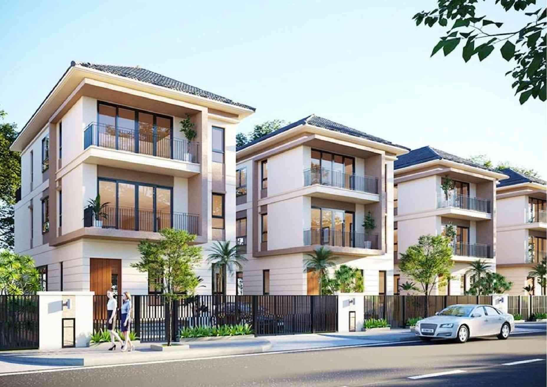 Nhà phố Palm Marina quận 9