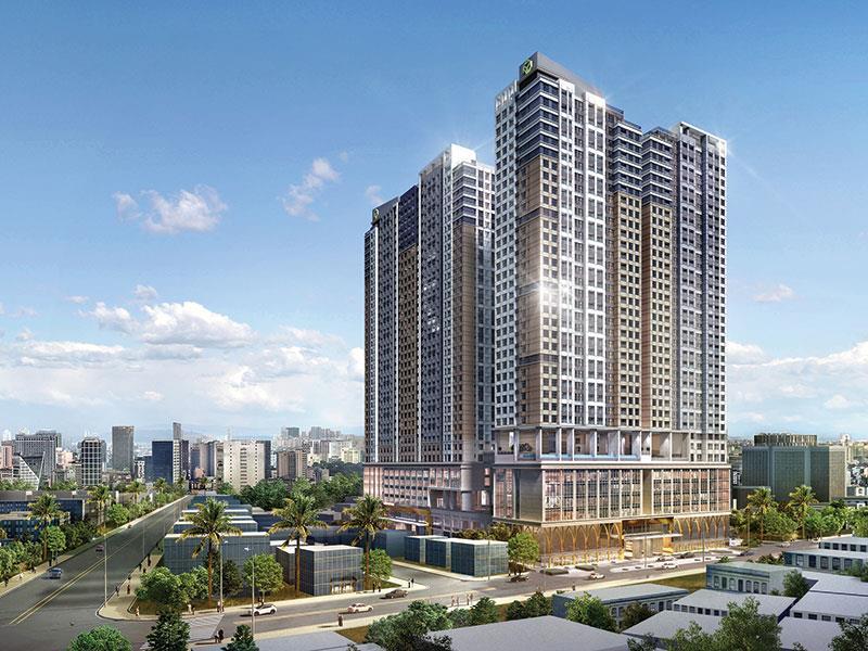 Hợp tác với Novaland, Lotte E&C sẽ cố gắng biến The Grand Manhattan thành công trình biểu tượng trong phân khúc căn hộ hạng sang tại Việt Nam.