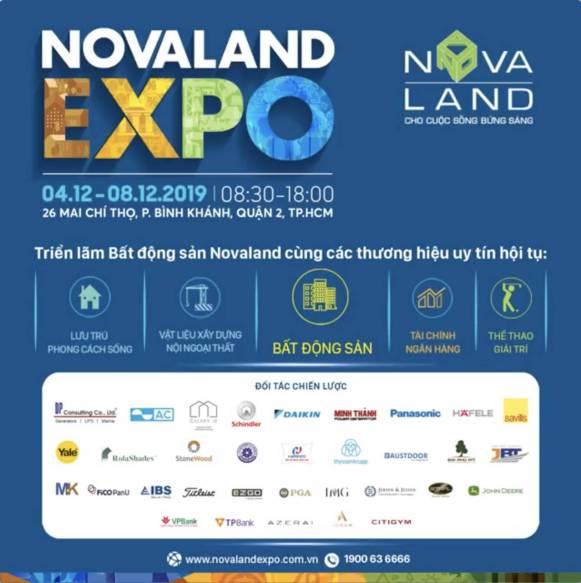 Tưng bừng sự kiện cuối năm: Novaland Expo Dec 2019