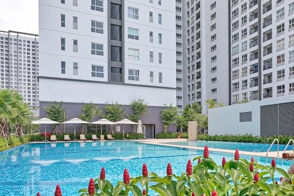 Tìm mua căn hộ mặt đường Nguyễn Hữu Thọ TP HCM