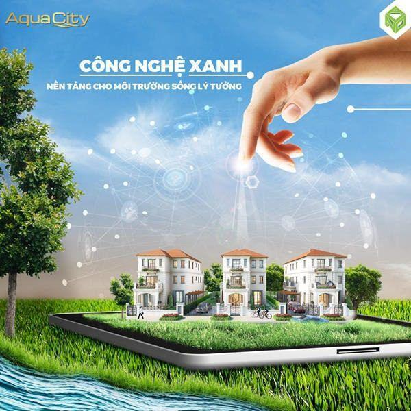 Graphic Aqua City khu đô thị sinh thái thông minh phía Đông Tp.HCM