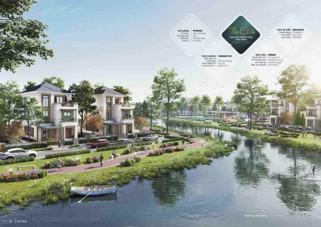 Khu đô thị Aqua City xanh hiện đại