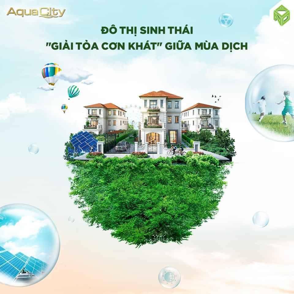 Aqua City Đô thị sinh thái-Giải toả cơn khát giữa mùa dịch