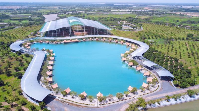 Khu du lịch Sơn Tiên tầm Quốc tế được hình thành cạnh Aqua City