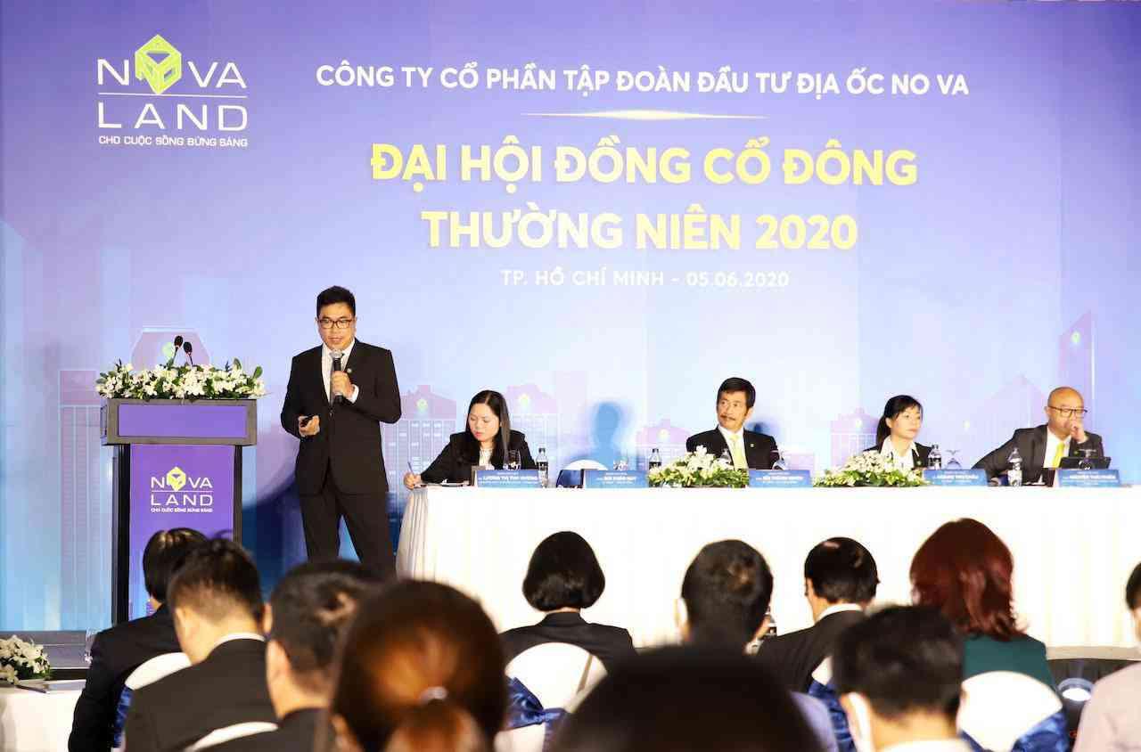 Tập đoàn Novaland tổ chức ĐHCĐ thường niên 2020