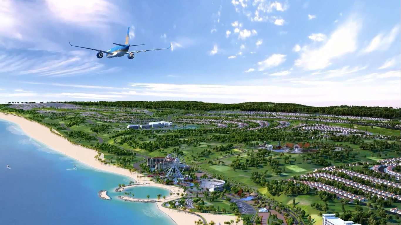 Tái khởi động dự án sân bay Phan Thiết – thị trường nhà đất Phan Thiết bùng nổ
