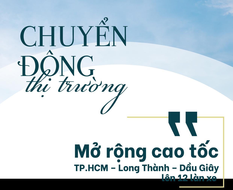 Mở rộng tuyến cao tốc TP.HCM – Long Thành – Dầu Giây