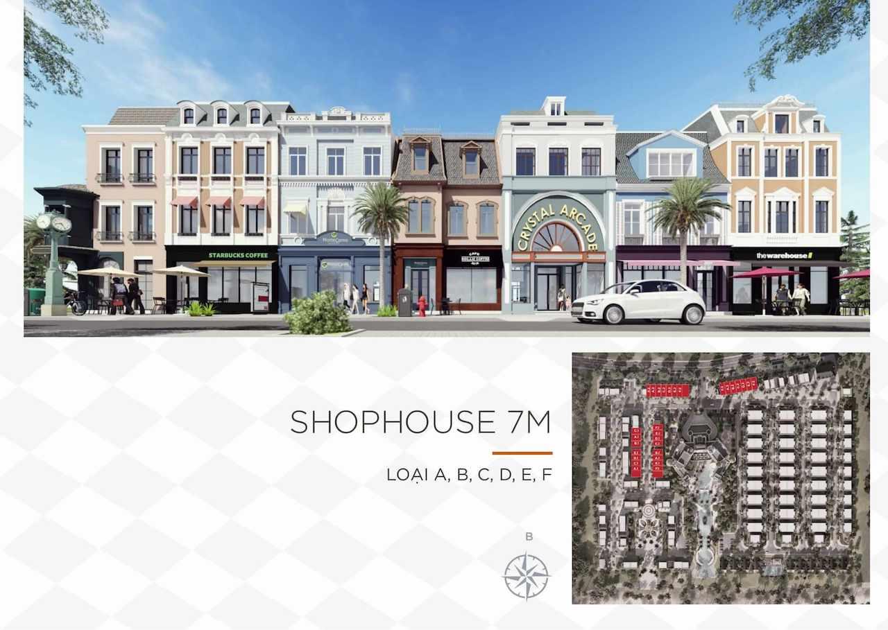 Thiết kế shophouse Wonderland NovaWorld Ho Tram