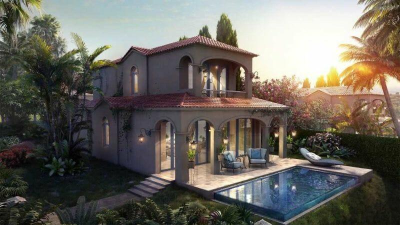 Biệt thự Địa Trung Hải xinh đẹp