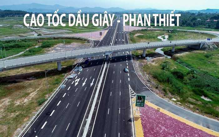 Cao tốc Dầu Giây - Phan Thiết đang được thi công