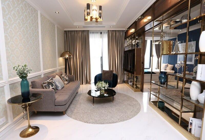 Thiết kế căn hộ ấn tượng, sang trọng tại The Grand Manhattan