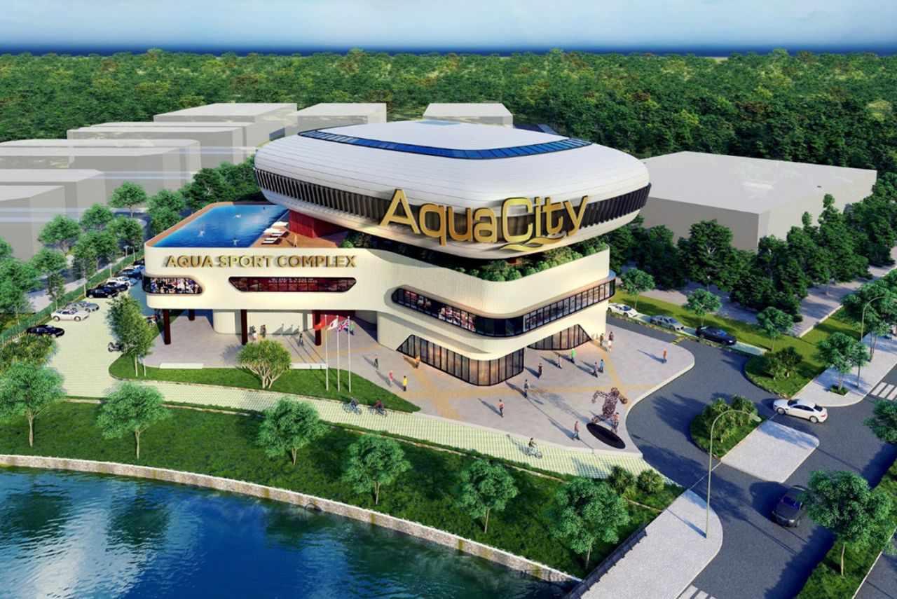 CITIGYM vận hành trung tâm thể thao đa năng tại Aqua City