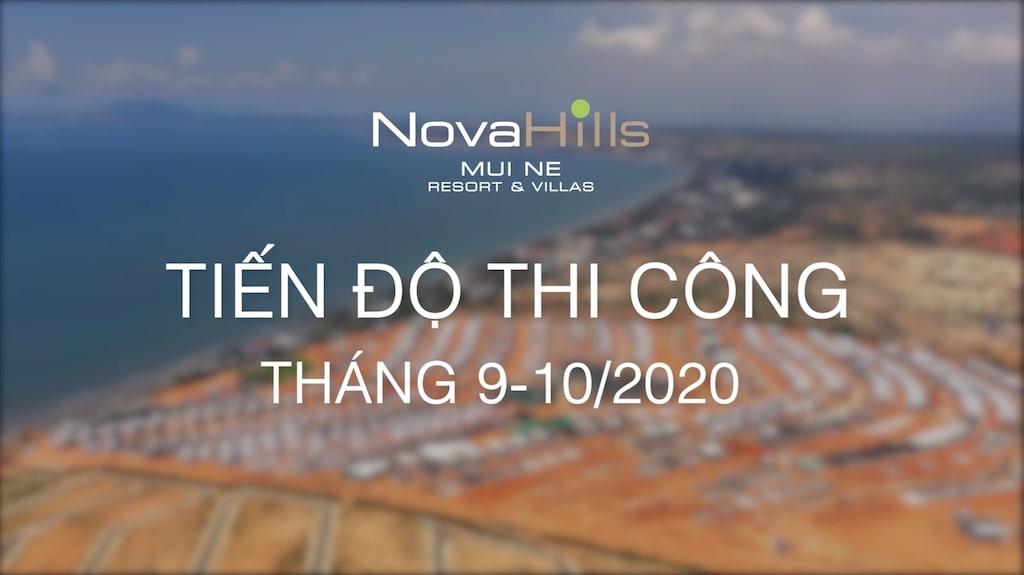 Tiến độ dự án Novahills Mũi Né tháng 11-2020