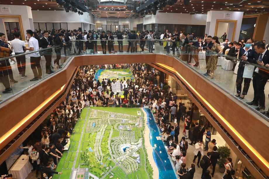 Không gian rộng lớn của triển lãm