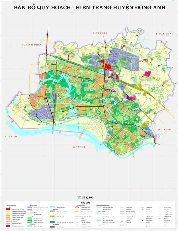 Mua đất ở huyện Đông Anh, Hà Nội không vướng quy hoạch có dễ không?