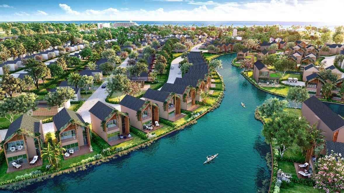 Lợi thế từ hạ tầng giao thông khu vực Safari hồ Tràm