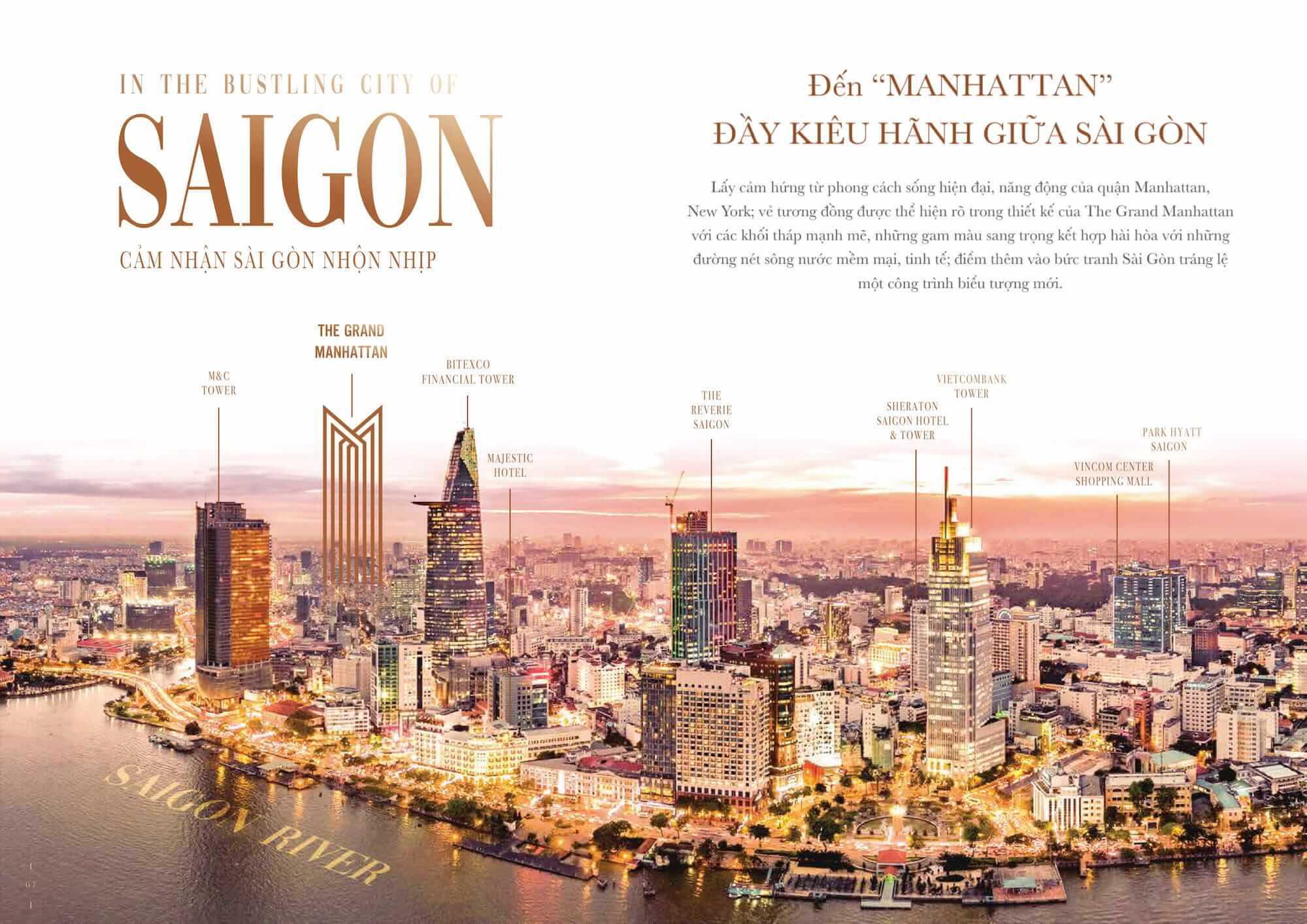 Những điều tạo ra sự đặc biệt của The Grand Manhattan Quận 1