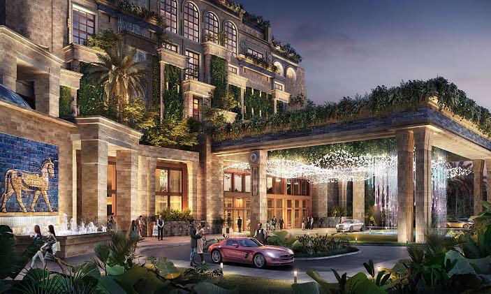 khách sạn MGallery tại dự án novaworld hồ tràm