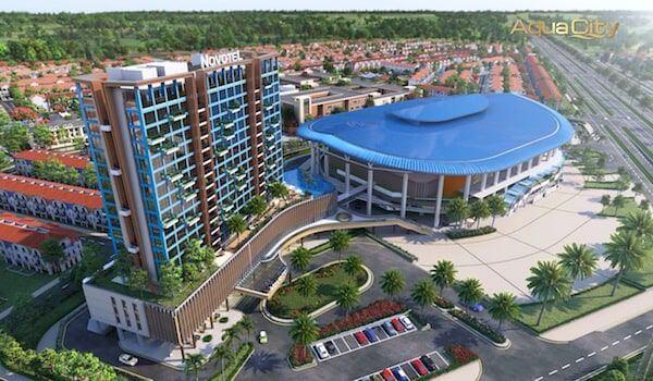 Tiện ích Novotel và Aqua Arena tại Aqua City