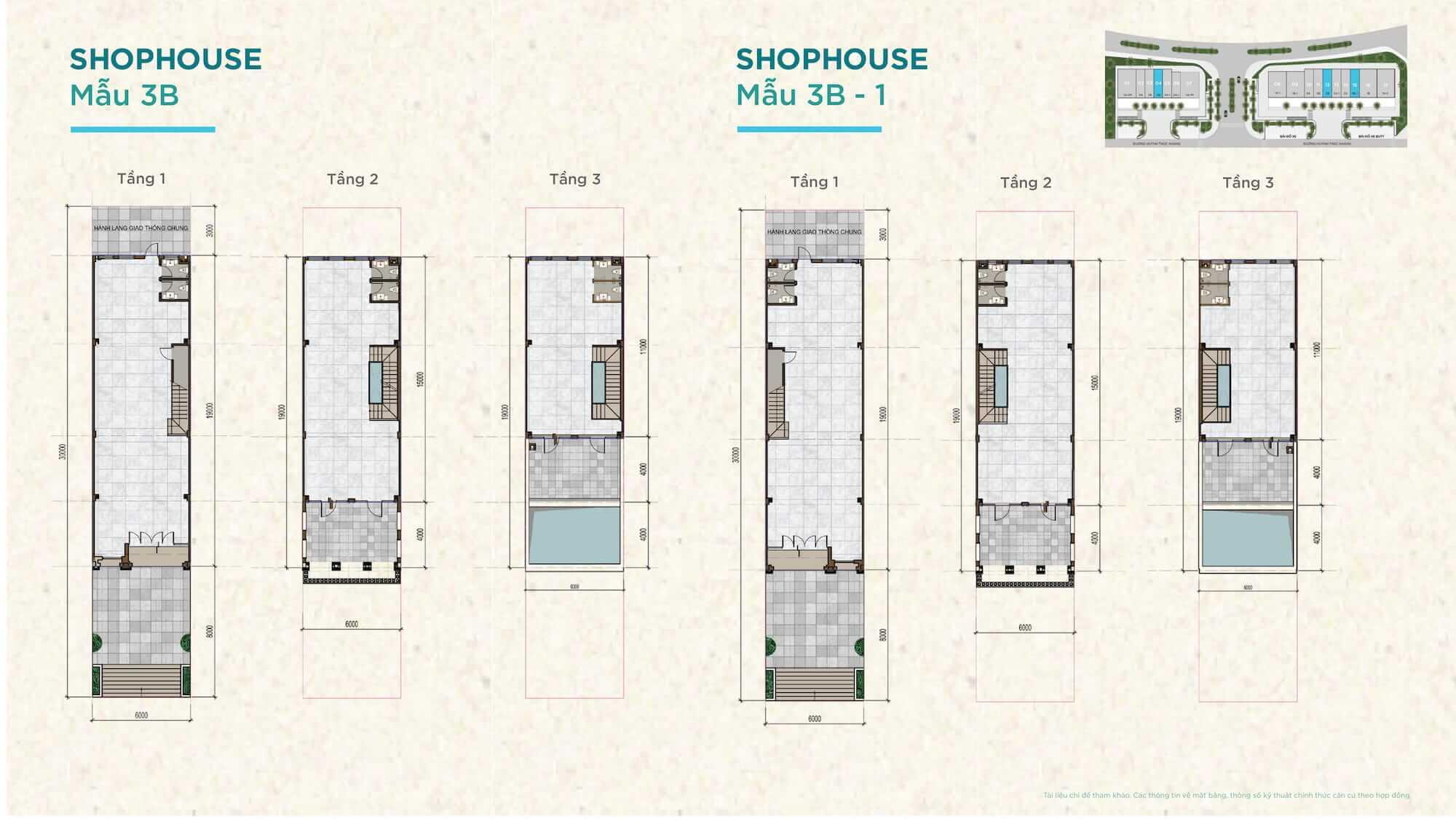Thiết kế Shophouse đắc địa Novahills Mũi Né