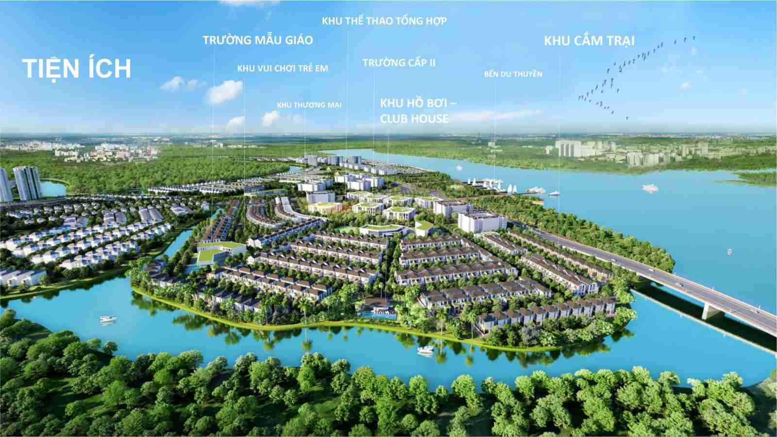 Bất động sản đô thị vệ tinh TP HCM: Xu hướng đầu tư năm 2021