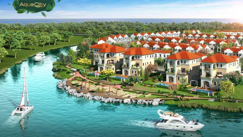 Bất động sản Aqua City giá bao nhiêu?