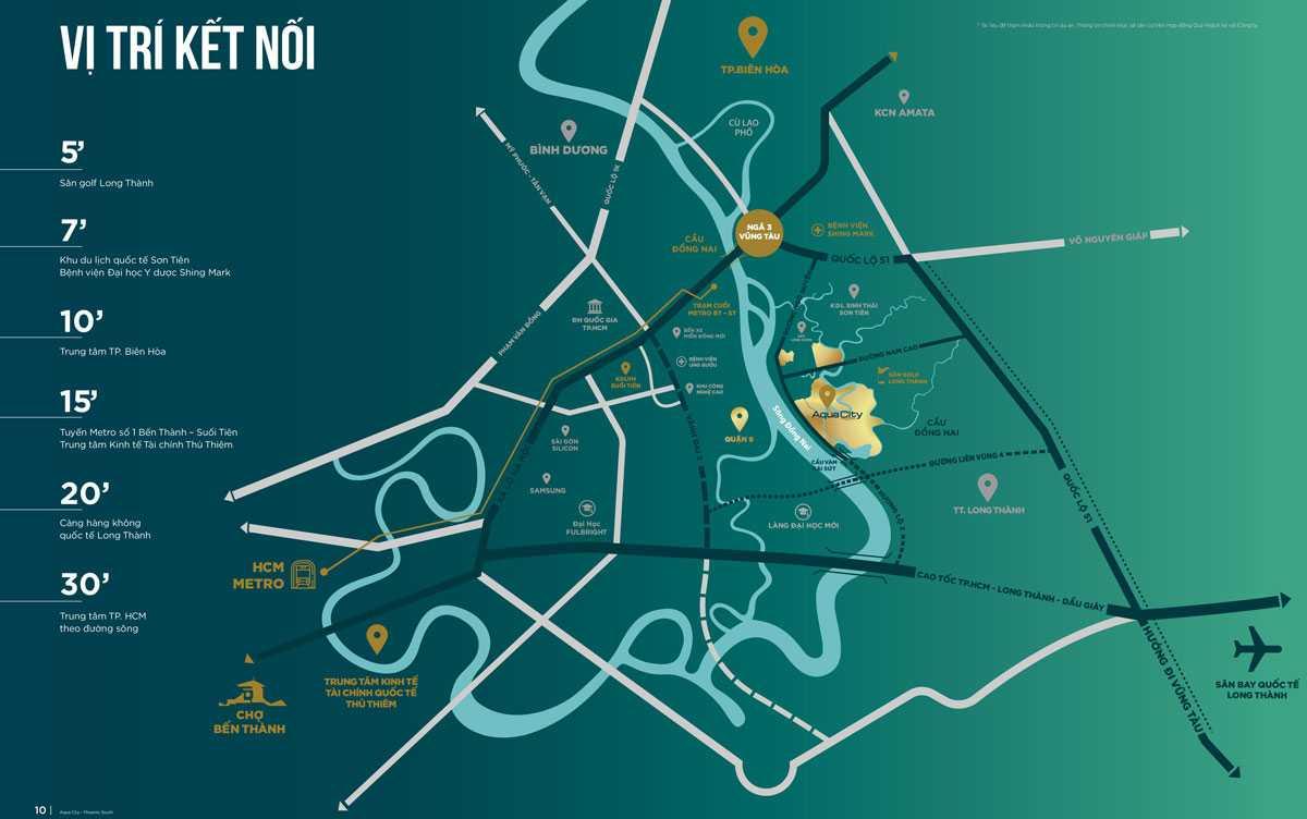 Có nên đầu tư dự án Aqua City Biên Hòa hay không?