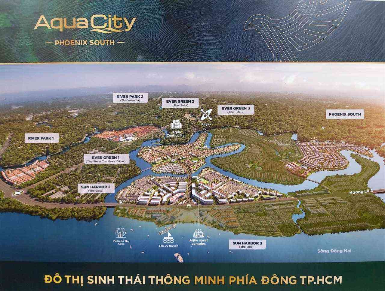 4 lý do Aqua City Biên Hòa là dự án thu hút nhà đầu tư