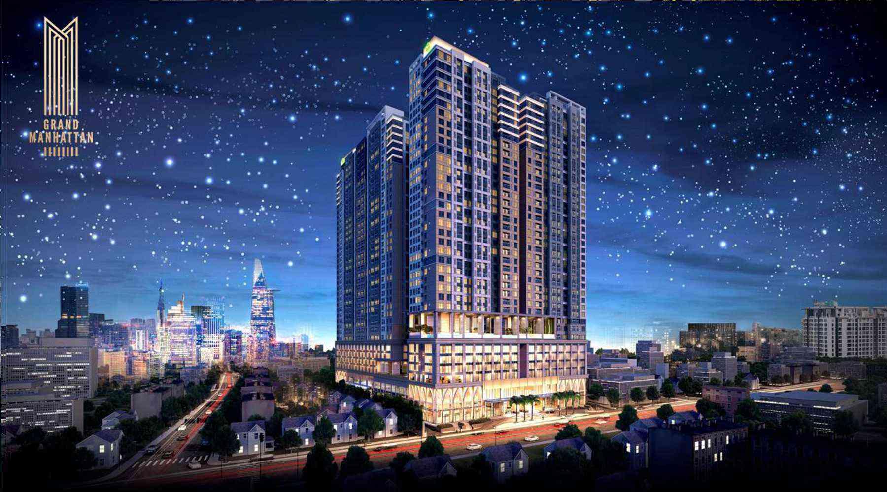 Dự án The Grand Manhattan – dự án chung cư cao cấp giữa lòng Sài Gòn