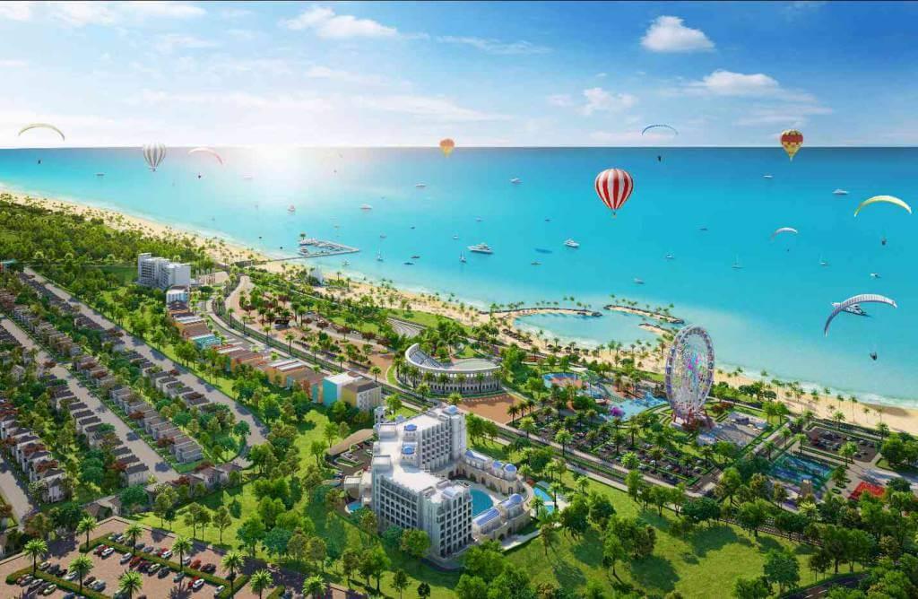 Phi cnh tng th D an NovaWorld Phan Thiet quy mo 1.000 ha