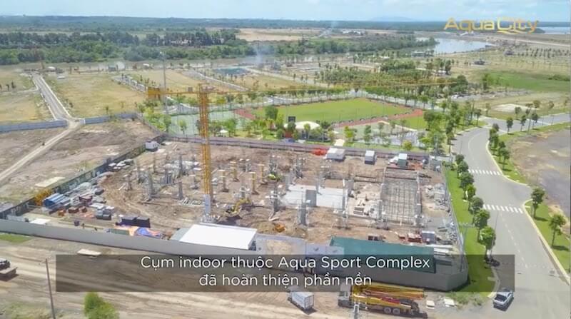 Cận cảnh tiến độ khu đô thị Aqua City Novaland tháng 5-2021