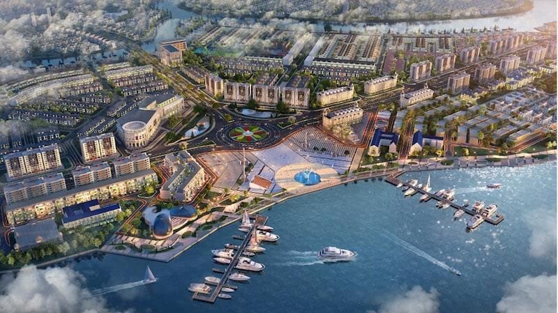 Aqua City phát triển mô hình đô thị 'trên bến dưới thuyền'