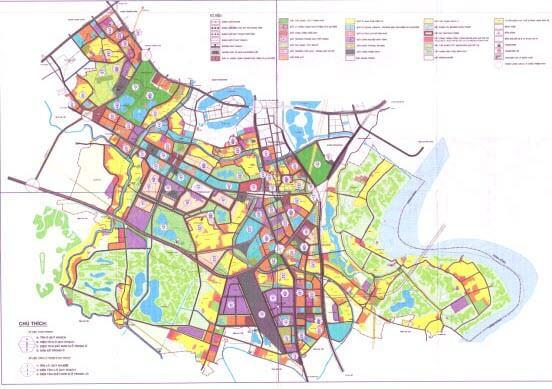 Bản đồ, thông tin quy hoạch huyện Thanh Trì mới nhất 2021