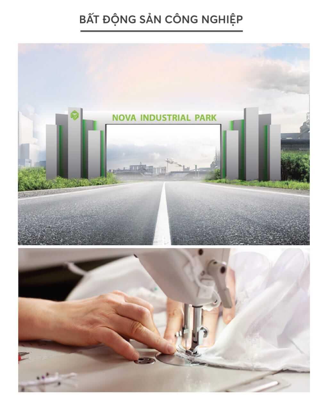 Bất động sản công nghiệp được Novaland Group phát triển