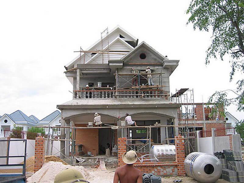Phong thủy xây, sửa nhà, làm nhà 2 năm bạn nên biết trước khi động thổ